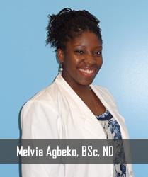 Melvia Agbeko, BSc, ND